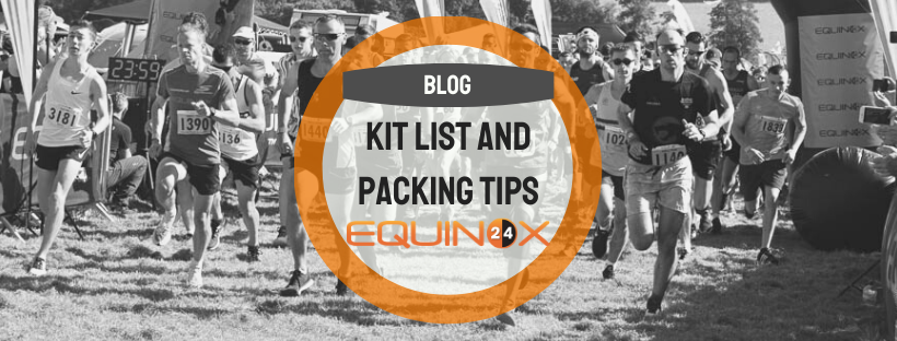 Kit List and Packing Tips!